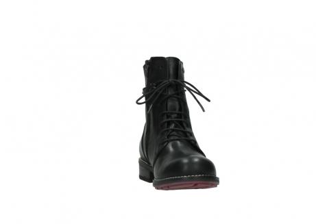 wolky halfhoge laarzen 4438 murray cw 200 zwart leer cold winter vachtvoering_18