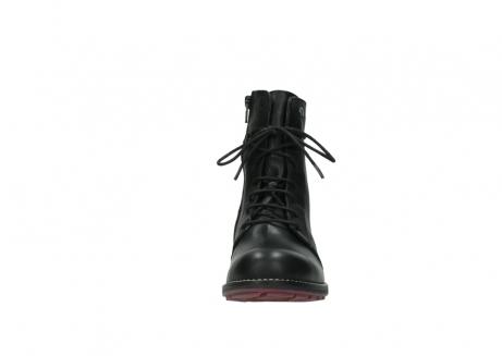 wolky halfhoge laarzen 4438 murray cw 200 zwart leer cold winter vachtvoering_19