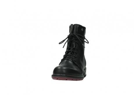 wolky halfhoge laarzen 4438 murray cw 200 zwart leer cold winter vachtvoering_20