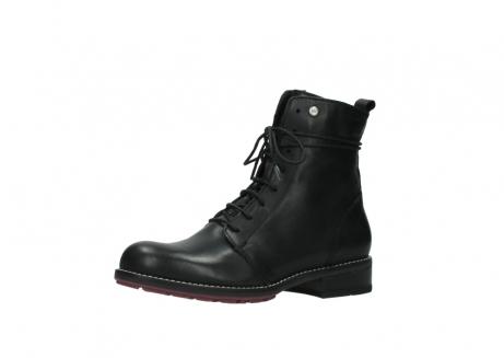 wolky halfhoge laarzen 4438 murray cw 200 zwart leer cold winter vachtvoering_23