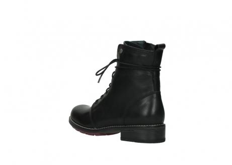 wolky halfhoge laarzen 4438 murray cw 200 zwart leer cold winter vachtvoering_4