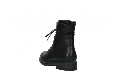 wolky halfhoge laarzen 4438 murray cw 200 zwart leer cold winter vachtvoering_5