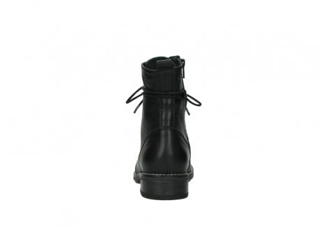 wolky halfhoge laarzen 4438 murray cw 200 zwart leer cold winter vachtvoering_7