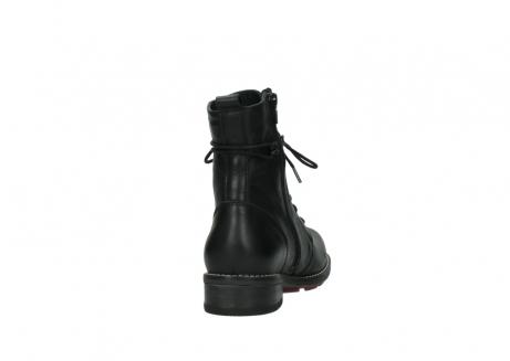 wolky halfhoge laarzen 4438 murray cw 200 zwart leer cold winter vachtvoering_8