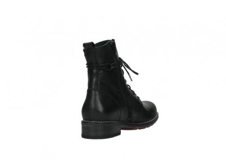 wolky halfhoge laarzen 4438 murray cw 200 zwart leer cold winter vachtvoering_9