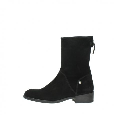 wolky halfhoge laarzen 4511 yunnan 400 zwart suede_1