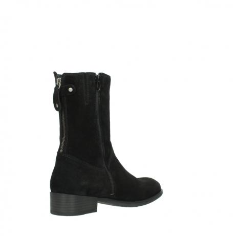 wolky halfhoge laarzen 4511 yunnan 400 zwart suede_10