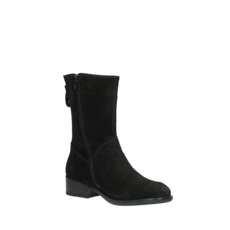 wolky halfhoge laarzen 4511 yunnan 400 zwart suede_16