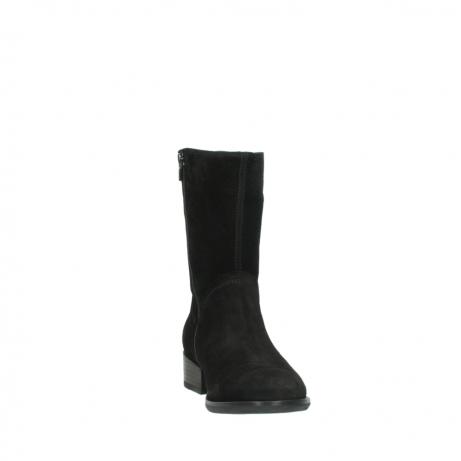 wolky halfhoge laarzen 4511 yunnan 400 zwart suede_18