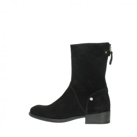 wolky halfhoge laarzen 4511 yunnan 400 zwart suede_2