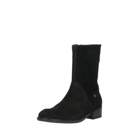 wolky halfhoge laarzen 4511 yunnan 400 zwart suede_22