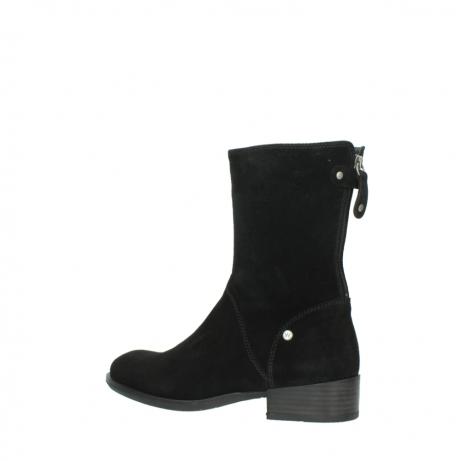 wolky halfhoge laarzen 4511 yunnan 400 zwart suede_3