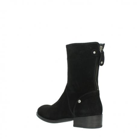 wolky halfhoge laarzen 4511 yunnan 400 zwart suede_4