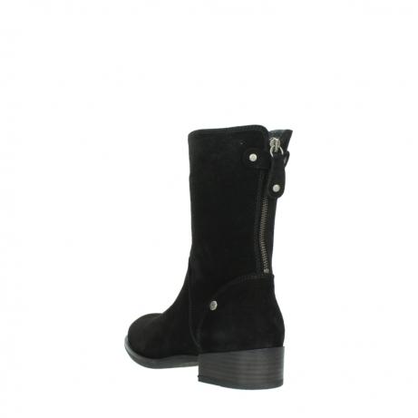 wolky halfhoge laarzen 4511 yunnan 400 zwart suede_5