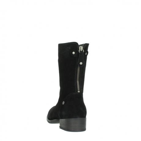 wolky halfhoge laarzen 4511 yunnan 400 zwart suede_6