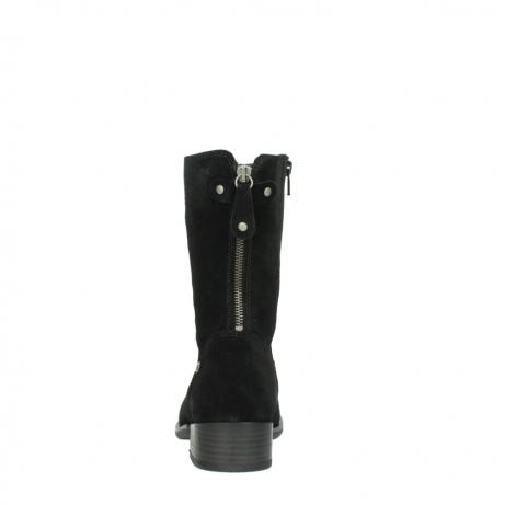 wolky halfhoge laarzen 4511 yunnan 400 zwart suede_7