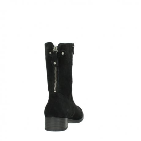 wolky halfhoge laarzen 4511 yunnan 400 zwart suede_8