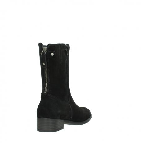 wolky halfhoge laarzen 4511 yunnan 400 zwart suede_9