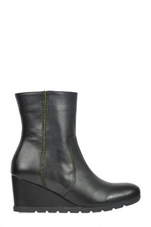 wolky halfhoge laarzen 6311 sandino 900 zwart leer