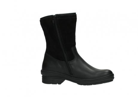 wolky halfhoge laarzen 7628 wilton wp 500 zwart leer water proof vachtvoering_14