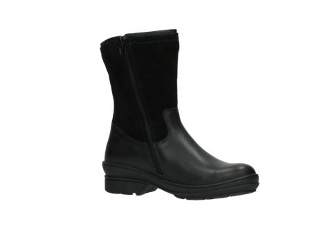wolky halfhoge laarzen 7628 wilton wp 500 zwart leer water proof vachtvoering_15