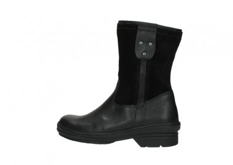 wolky halfhoge laarzen 7628 wilton wp 500 zwart leer water proof vachtvoering_2