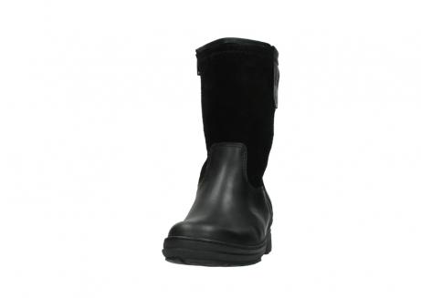wolky halfhoge laarzen 7628 wilton wp 500 zwart leer water proof vachtvoering_20