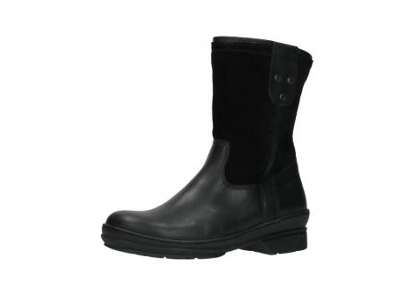 wolky halfhoge laarzen 7628 wilton wp 500 zwart leer water proof vachtvoering_23