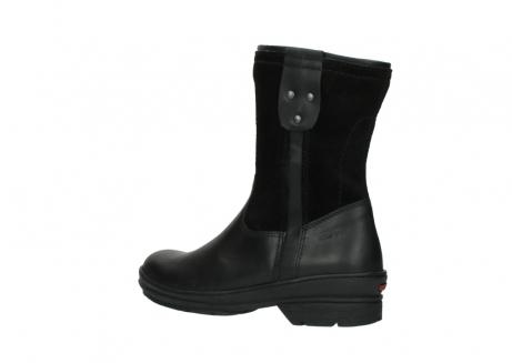 wolky halfhoge laarzen 7628 wilton wp 500 zwart leer water proof vachtvoering_3