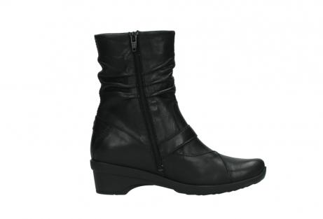 wolky halfhoge laarzen 7655 florida cw 200 zwart leer cold winter vachtvoering_13