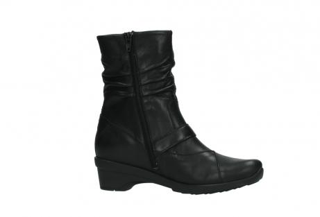 wolky halfhoge laarzen 7655 florida cw 200 zwart leer cold winter vachtvoering_14