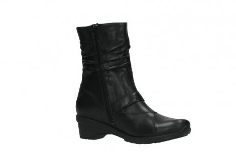 wolky halfhoge laarzen 7655 florida cw 200 zwart leer cold winter vachtvoering_15