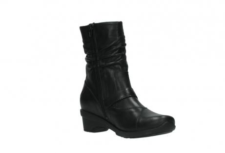 wolky halfhoge laarzen 7655 florida cw 200 zwart leer cold winter vachtvoering_16