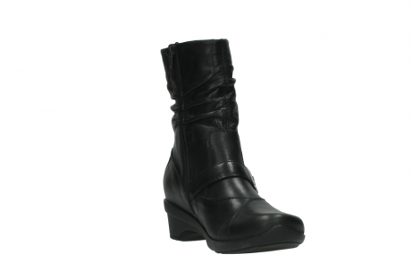 wolky halfhoge laarzen 7655 florida cw 200 zwart leer cold winter vachtvoering_17