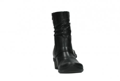 wolky halfhoge laarzen 7655 florida cw 200 zwart leer cold winter vachtvoering_18