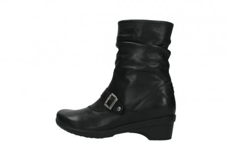 wolky halfhoge laarzen 7655 florida cw 200 zwart leer cold winter vachtvoering_2