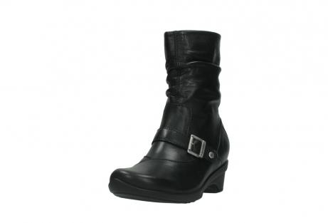 wolky halfhoge laarzen 7655 florida cw 200 zwart leer cold winter vachtvoering_21
