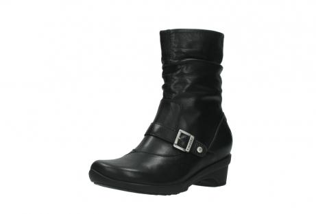wolky halfhoge laarzen 7655 florida cw 200 zwart leer cold winter vachtvoering_22