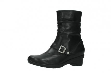 wolky halfhoge laarzen 7655 florida cw 200 zwart leer cold winter vachtvoering_23