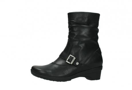 wolky halfhoge laarzen 7655 florida cw 200 zwart leer cold winter vachtvoering_24