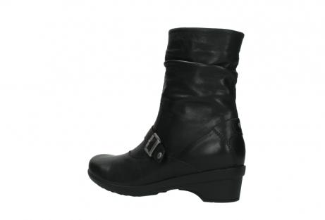 wolky halfhoge laarzen 7655 florida cw 200 zwart leer cold winter vachtvoering_3
