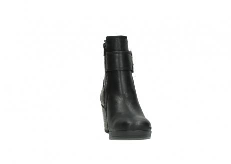 wolky halfhoge laarzen 8026 hopewell 500 zwart geolied leer_18
