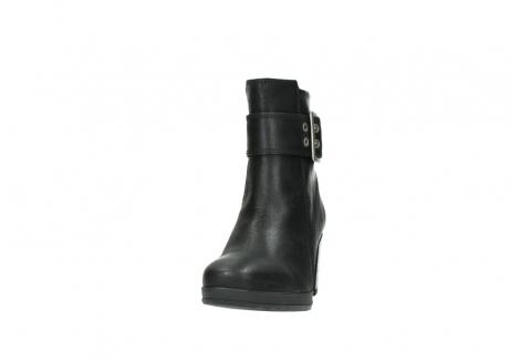wolky halfhoge laarzen 8026 hopewell 500 zwart geolied leer_20