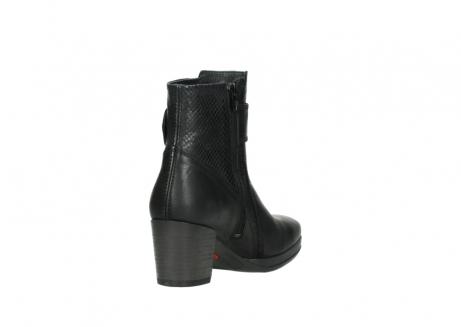 wolky halfhoge laarzen 8026 hopewell 500 zwart geolied leer_9