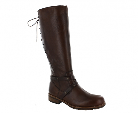 wolky high boots u 04433 belmore 20430 cognac leather