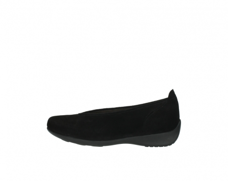 wolky slippers 00359 ballet 40000 suede noir_1