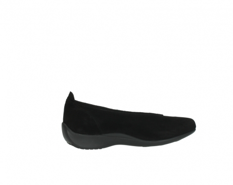 wolky slippers 00359 ballet 40000 suede noir_12