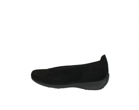 wolky slippers 00359 ballet 40000 suede noir_2