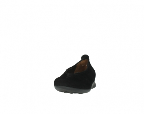 wolky slippers 00359 ballet 40000 suede noir_20