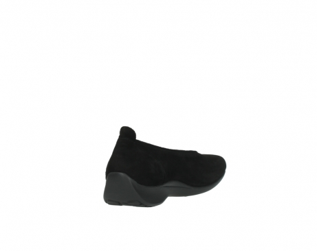wolky slippers 00359 ballet 40000 suede noir_9
